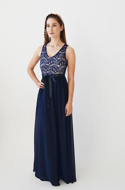 Made To Order Elsa Lace Top Maxi Dress Kameo Designs