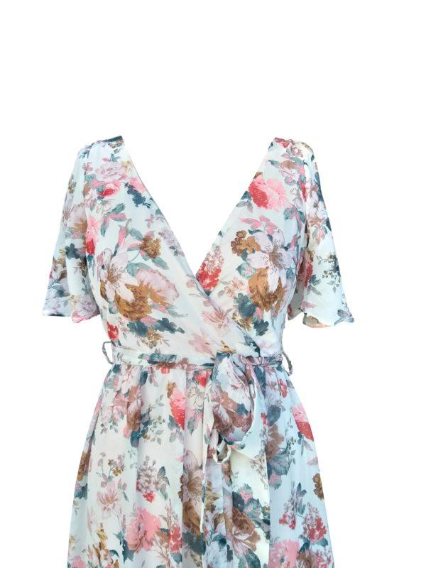 Floral jenny split sleeve dress- R899 278.8294 no1